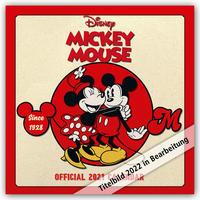 Disney Mickey Mouse 2022 - Wandkalender