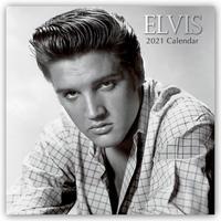 Elvis 2021 - 16-Monatskalender