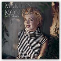 Marilyn Monroe 2021 - 16-Monatskalender