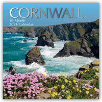 Cornwall 2021 - 16-Monatskalender