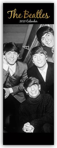 The Beatles 2021 - Slimline-Kalender