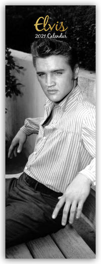 Elvis 2021 - Slimline-Kalender
