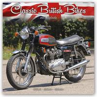 Classic British Motorbikes - Britische Motorrad-Oldtimer 2021