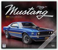 Mustang 2021 - 16-Monatskalender