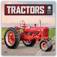 Tractors - Traktoren 2021 - 16-Monatskalender