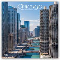 Chicago 2021 - 16-Monatskalender