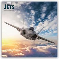 Jets - Düsenflugzeuge 2021 - 16-Monatskalender