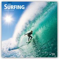 Surfing - Surfen 2021 - 16-Monatskalender