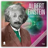 Albert Einstein 2021 - 16-Monatskalender