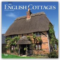 English Cottages - Englische Landhäuser 2021 - 16-Monatskalender