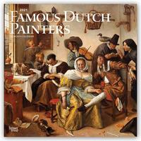 Famous Dutch Painters - Berühmte niederländische Maler 2021 - 16-Monatskalender