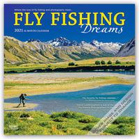 Flyfishing Dreams - Fliegenfischen 2021 - 16-Monatskalender