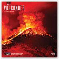 Volcanoes - Vulkane 2021 - 16-Monatskalender