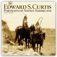 Portraits of Native Americans - Amerikanische Ureinwohner 2021 - 16-Monatskalender