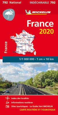 Michelin Frankreich 2020 (widerstandsfähig)