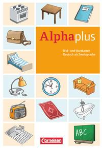 Alpha plus - Basiskurs - Ausgabe 2011/12 / A1 - Bild- und Wortkarten