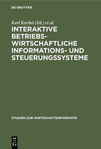 Interaktive betriebswirtschaftliche Informations- und Steuerungssysteme