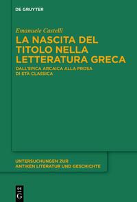 La nascita del titolo nella letteratura greca