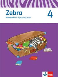 Zebra, Wissensbuch Sprache/Lesen 4. Schuljahr