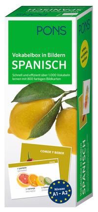 PONS Vokabelbox in Bildern Spanisch