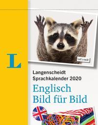 Langenscheidt Sprachkalender 2020 Englisch Bild für Bild