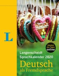 Langenscheidt Sprachkalender 2020 Deutsch als Fremdsprache