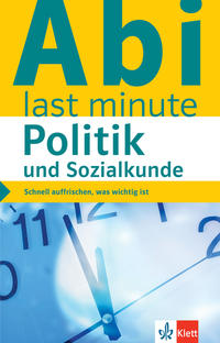 Klett Abi last minute Politik und Sozialkunde