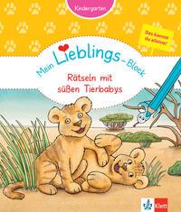 Klett Mein Lieblings-Block Rätseln mit süßen Tierbabys