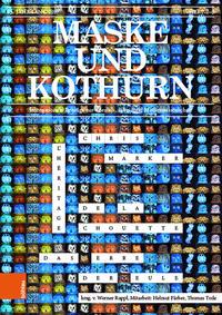 Maske und Kothurn Jg. 63,2-3 (2017)