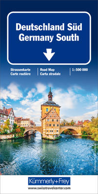 Deutschland Süd 1:500 000