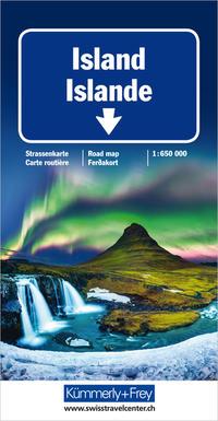 Island Strassenkarte