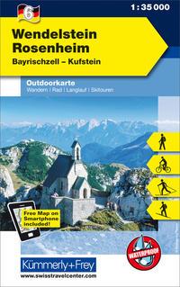 Wendelstein - Rosenheim, Bayrischzell, Kufstein