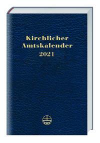 Kirchlicher Amtskalender 2021 - blau