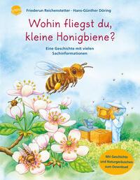 Wohin fliegst du, kleine Honigbiene?
