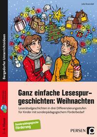 Ganz einfache Lesespurgeschichten: Weihnachten