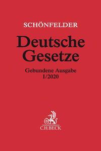 Deutsche Gesetze Gebundene Ausgabe I/2020