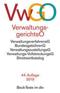 VwGO - Verwaltungsgerichtsordnung/Verwaltungsverfahrensgesetz