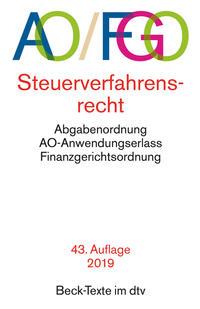 Abgabenordnung mit Finanzgerichtsordnung und Nebengesetzen AO/FGO