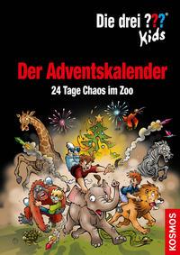 Die drei ??? Kids - Der Adventskalender: 24 Tage Chaos im Zoo