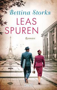 Cover: Bettina Storks Leas Spuren