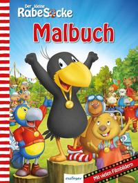 Der kleine Rabe Socke, Das große Rennen – Malbuch; VE 5 Expl.