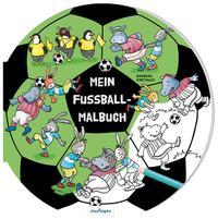 Mein Fußball-Malbuch
