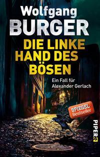 Cover: Wolfgang Burger Die linke Hand des Bösen
