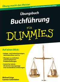 Cover: Michael Griga Übungsbuch Buchführung für Dummies