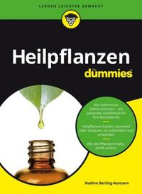 Cover: Nadine Berling-Aumann Gesünder leben mit Heilpflanzen für Dummies