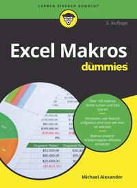 Cover: Michael Alexander Excel Makros für Dummies