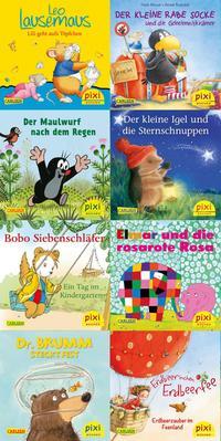 Pixi-8er-Set 254: Die beliebtesten Bilderbuch-Helden bei Pixi (8x1 Exemplar)