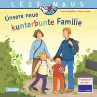 LESEMAUS 170: Unsere neue kunterbunte Familie