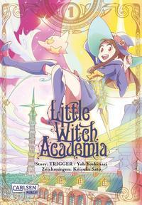 Cover: Keisuke Sato Little Witch Academia