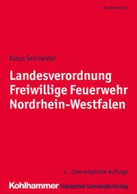 Landesverordnung Freiwillige Feuerwehr Nordrhein-Westfalen